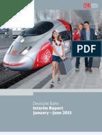 DEUTSCHE BAHN Interim Report January-June 2011