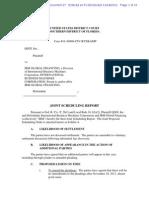 QSGI vs IBM Joint Scheduling Report