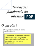 Pertubaçoes Funcionais Do Intestino
