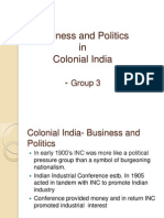 STI_Business and Politics in Colonial India