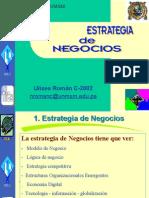 Semana2 Estrategia Negocio Actualizado Febrero 2005