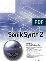 SonikSynth 2 User's Manual