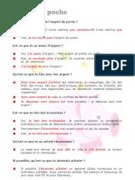 Argent de Poche - Key Phrases