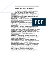 10 Consejos Del Monje Matthieu Ricard
