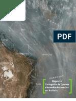 Reporte de Quemas e Incendios Forestales en Bolivia (2000 - 2011)