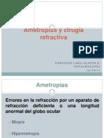 Ametropías y cirugía refractiva