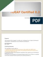 TOGAF Certified E2