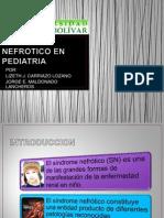 Sindrome Nefrotico en Pediatria