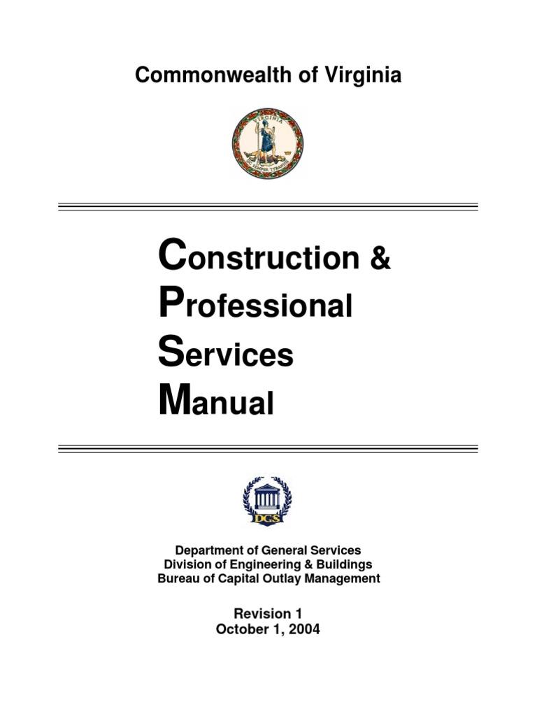 CPSM   Construction Management   Hvac