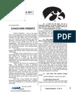 Coach Ferentz - 11 8 11