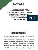 Complemento Capítulo X del Libro REATA v2.0