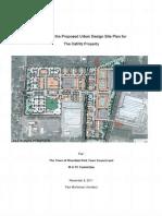 Urban Desing Site Plan