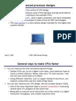 20 Advanced Processor Designs