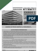 Caderno de Prova TCU CE