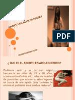 Aborto en adolescentes
