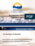 BCPSEA E64 Policy Connections to Bargaining Proposals