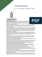Declaracion de Amnistia Internacional-Elizardo Sánchez