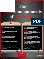 The 10 Commandments of Video Search Engine Optimizaton [SEO]