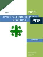 CONFORMACION COMITÉ PARARITARIO DE HIGIENE Y SEGURIDAD