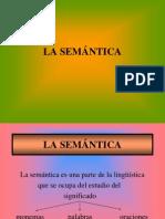 Estudio semantico