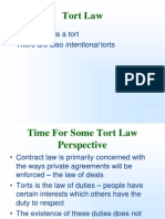 Negligence and Torts CLASS 60