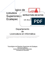 Manual Estructura de Datos