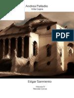 Villa Capra, análisis arquitectónico
