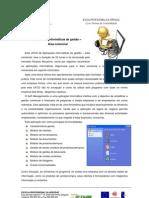 Aplicações informáticas de gestão - área comercial