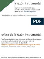 critica razón instrumental