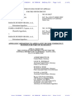 BARNETT KEYES v OBAMA (APPEAL - 9th CIRCUIT) - 55 - Filed (ECF) Appellees - TransportRoom.55.0