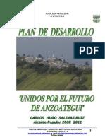 Plan de Desarrollo Anzoategui