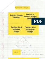 Geometry Interactive Notebook 4-8