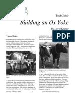 Building an Ox Yoke Tech Guide