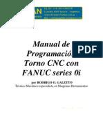 Manual de Programacion Torno Cnc Con Fanuc Series 0i