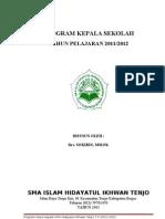 Program Kepala Sekolah