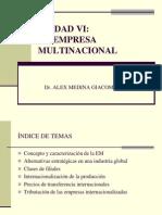 Unidad Vi La Emp Multinacional