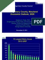 Montgomery County, Maryland -  2020 Economic Outlook