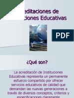 Acreditación de Instituciones Educativas