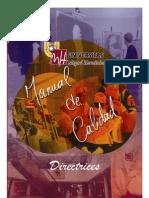 Manual de Calidad - Direct Rices