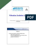 Vibration Isolation Lab [ASU GARDS][Lab notes]