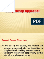 Competency Appraisal PPT