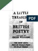 Williams Little Treasury of British Poetry 1951