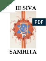 The Shiva Samhita (ENG)