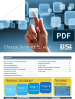 Training Brochure 2011