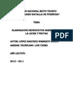 Monografia de Las Pasantias Realizadas en La Empresa Productos Gerrero (2)