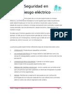 Riesgos en instalaciones elèctricas