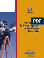 Manual para la Investigación de Accidentes Laborales