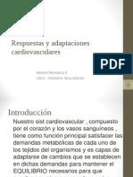 Respuestas y Adaptaciones Cardiovasculares