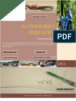 Automobile Industry Jignesh