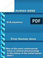 Copy of First Human Dose